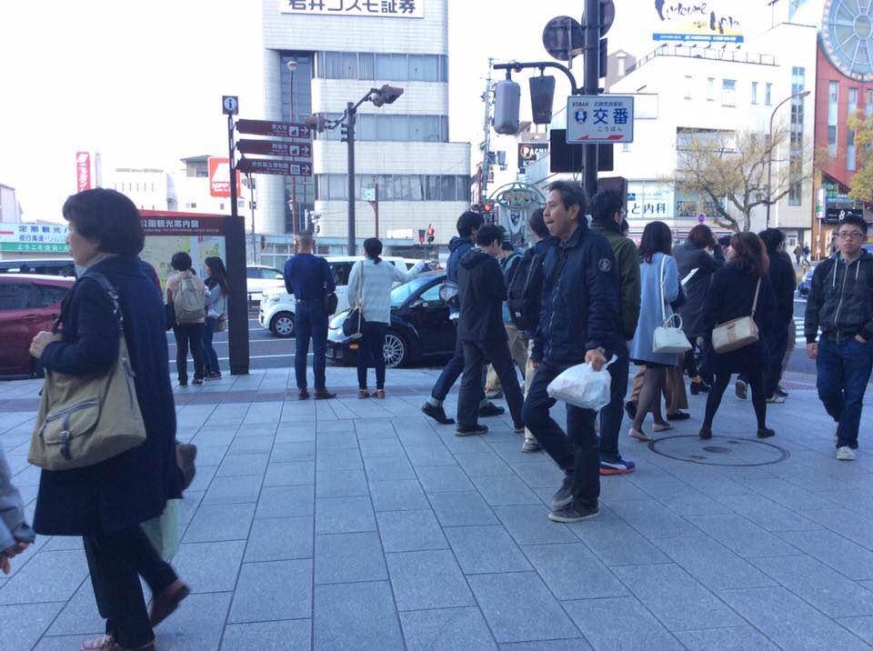 第52回 「無料で愚痴聞きます」 in近鉄奈良駅前